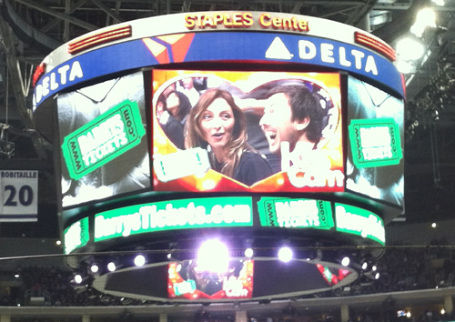 Kiss Cam Moments