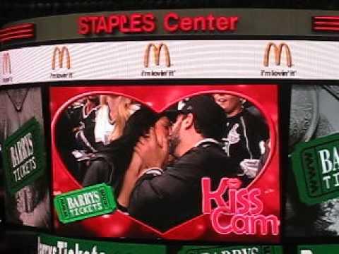 Staples Center Kiss Cam