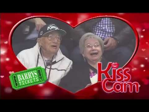 LA Kings KISS CAM Staples Center