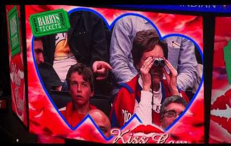 Funny Kiss Cam Moments
