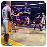 Lakers Tickets Courtside