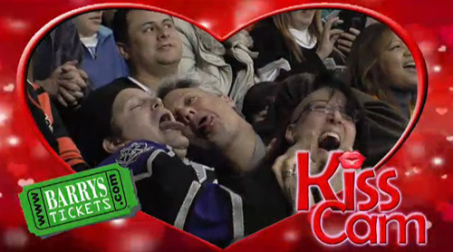 Kings Game Kiss Cam