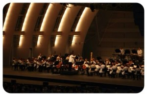 Philharmonic at Hollywood Bowl
