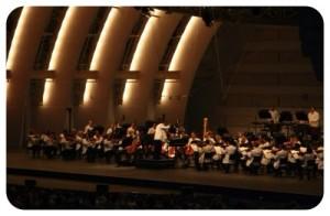 Philharmonic at Hollywood Bowl