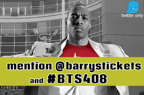 Barry's Tickets Ticket Contest
