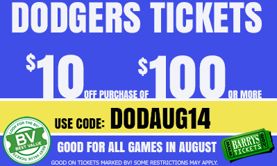 Dodgers Tickets Coupon Code