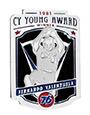 Cy Young Collectors Pin Series: Fernando Valenzuela