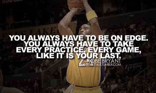 Kobe Bryant Inspirational Quotes