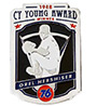 Orel Hershiser Cy Young Collectors Pin