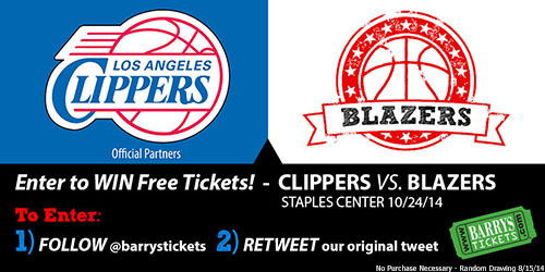 Clippers Blazers Tickets