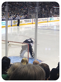 NHL LA Kings Goalie