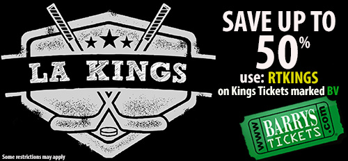 LA Kings Tickets Coupon Code