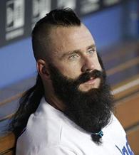 LA Dodgers Brian Wilson