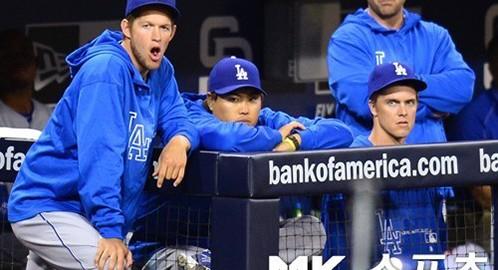Dodgers Pitchers Clayton Kershaw, Zack Grienke, Ryu