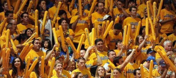 Warriors have a true homecourt advantage