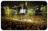GS warriors fans oracle arena