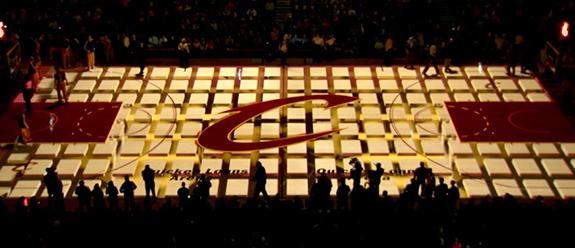 Cleveland Cavs Court