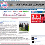 Los Angeles Clippers recognizing Barry's Tickets for their charity