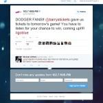 LA Dodgers Tickets giveaway KIIS FM Barry's Tickets