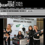 LA Kings Tip A King Sponsor Barry's Tickets