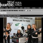 LA Kings Tip A King Sponsor Barry's Tickets