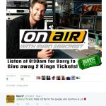 Barry's Tickets Ryan Seacrest giveaway