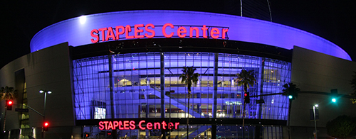 Address for the Staples Center