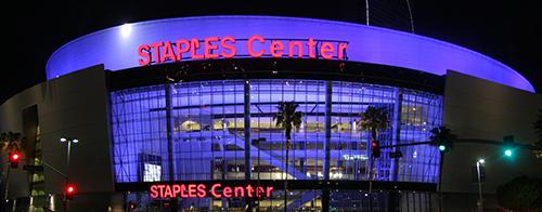 Staples Center Address