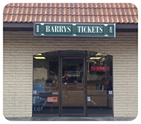 Barry's Tickets Anaheim Office