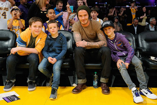 cavs lakers courtside