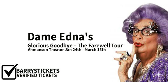 Watch Dame Edna Dance to Her Own Beat One Last Time