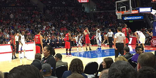 Clippers vs Raptors