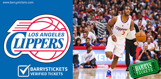 Upcoming Clippers Schedule & Tickets through Jan 7th
