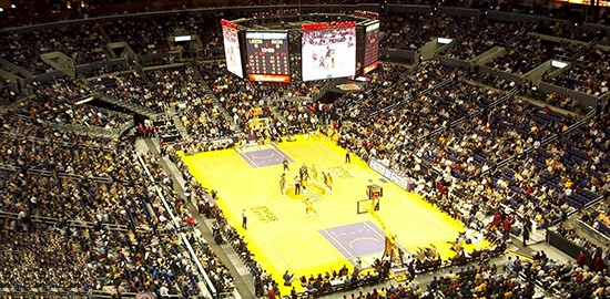 Lakers Game at LA Staples Center