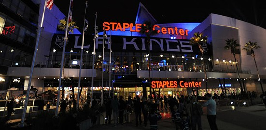 LA Kings Game Staples Center