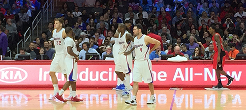 Los Angeles Clippers Toronto Raptors Staples Center