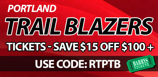 Trail Blazers Tickets Discount Code