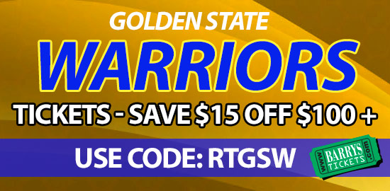 Warriors Tickets Coupon Code