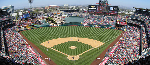 2015 Angels Opening Day Tickets