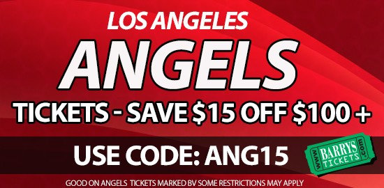2015 Angels Opening Day tickets promo code