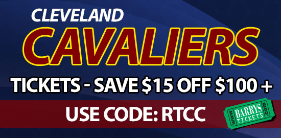 Coupon Code on Cavaliers Tickets