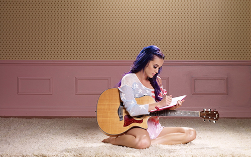 katy perry song writer and sings