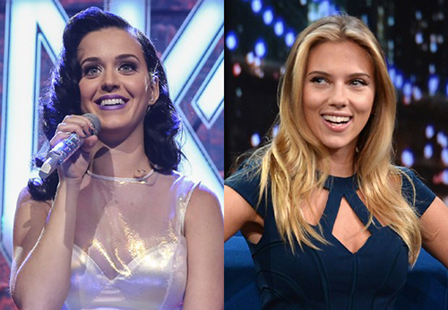 Katy Perry I kissed a girl about Scarlett Johansson