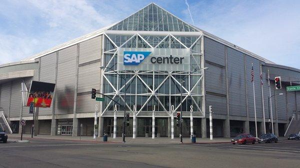 Sap Center events San Jose