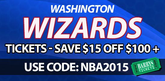 Wizards Tickets Discount Code