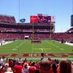 Levi's Stadium Sec 103 seating view
