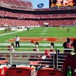 Levi's Stadium Sec 104 seat view
