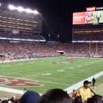 Levi's Stadium Sec 124 seat view