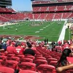 Levi's Stadium Sec 125 seat view