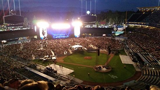 Dodger Stadium Concert Seating Chart Barrystickets Com